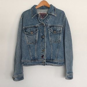 🇫🇷 CHIPIE Vintage Denim Jacket in Medium Wash